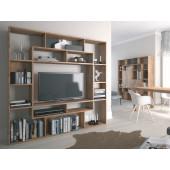 Bookcase - Wall Unit ALANO R4