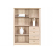 Chest of Drawers - Bookcase With Drawers FINEZJA F11