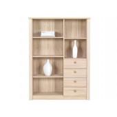 Bookcase With Drawers Finezja F11