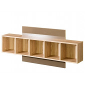 Wall panels shelves - Wall Unit CARMELO C19