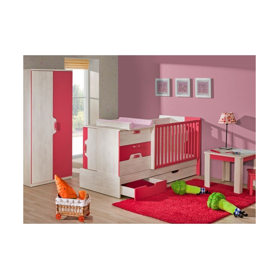 Children bedroom furniture set nuki 3 sofafox for 3 bedroom set