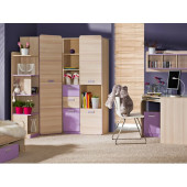 Childrens Room Furniture Set LORENTO 6 Purple