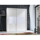 Wardrobe 180 Front 4 - White
