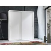 Wardrobes - Wardrobe 180 White-White