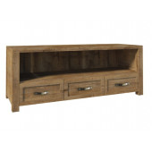 Living Room - RTV Unit NEVADA - dark oak