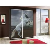 Wardrobes - Wardrobe PENELOPA 155 Horse