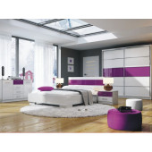 Bedroom Sets - Bedroom Dubai Purple