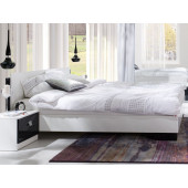 Bedroom Furniture Arrangement Lux Stripes Black
