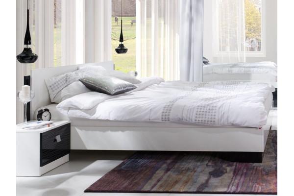 Bedroom Furniture Arrangement Lux Stripes  Black
