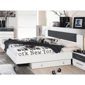 Bedroom - Bed 160 x 200 + Bed Base...