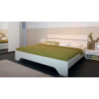 European Size King Size Bed With 2 Bedside Tables Fellbach