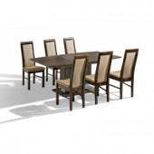 Table Chairs - Dinner Table System - ST2R+KR5
