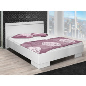 - King Size Bed Vista White 150