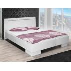 King Size Bed Vista White 150