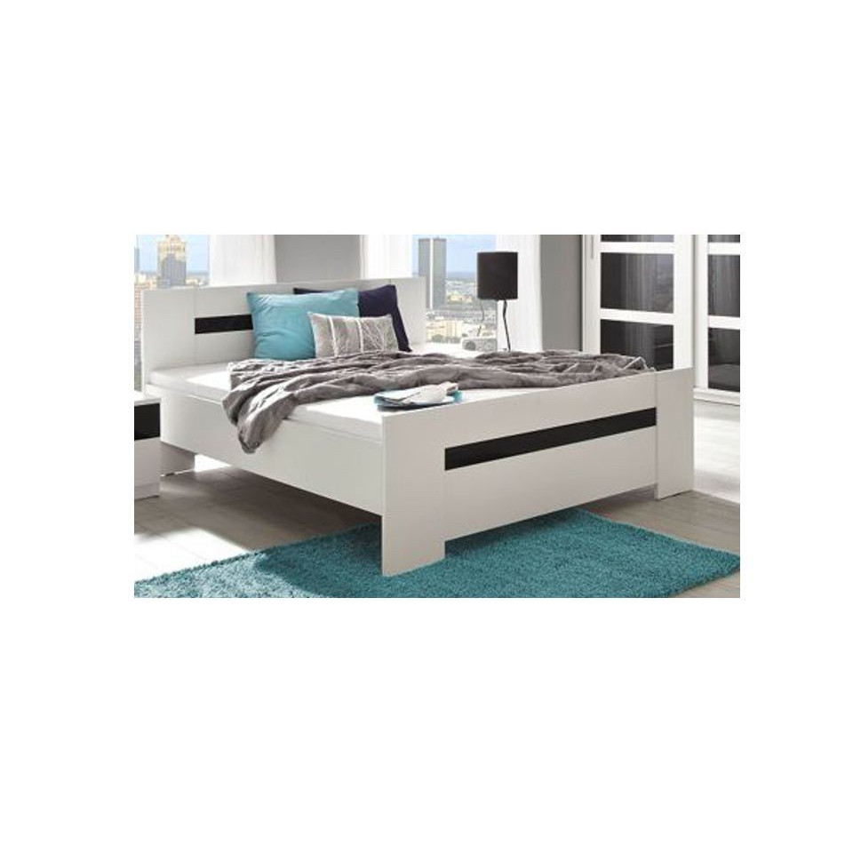 queen size bed bari sofafox. Black Bedroom Furniture Sets. Home Design Ideas