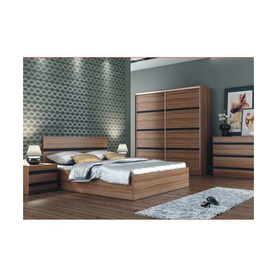 queen size bed florencja sofafox. Black Bedroom Furniture Sets. Home Design Ideas