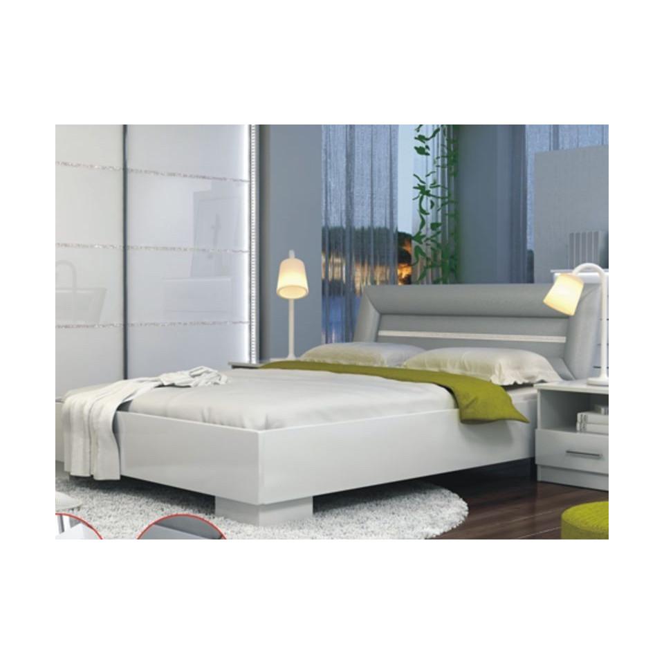 queen size bed malaga sofafox. Black Bedroom Furniture Sets. Home Design Ideas