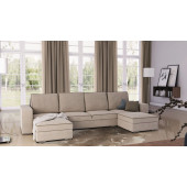- ASCOT - U shape sofa bed