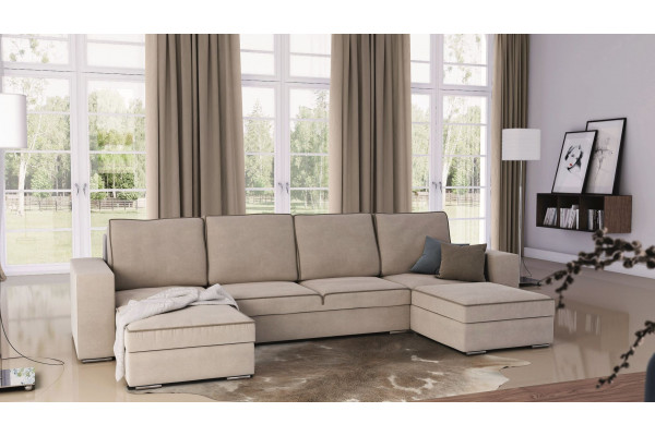 ASCOT   U Shape Sofa Bed