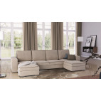 ASCOT - U shape sofa bed