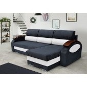 Corner Sofa Bed - GRETA with two...