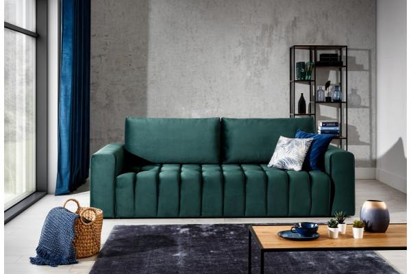 WILHELM - 3 seater sofa bed