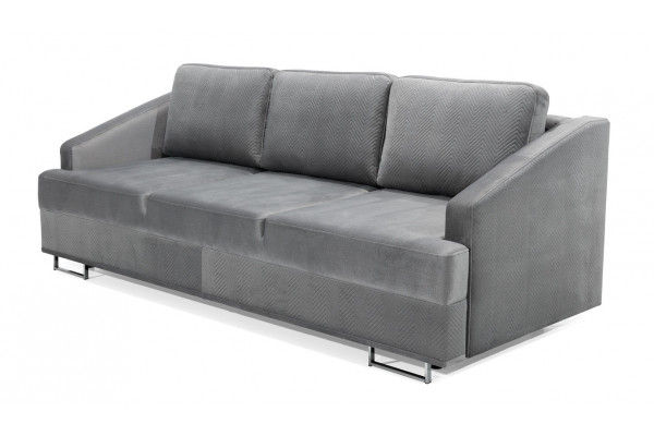 HARRY - 3 seater sofa bed with storage