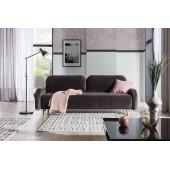 Corner sofas - MARA - 3 seater sofa bed with...