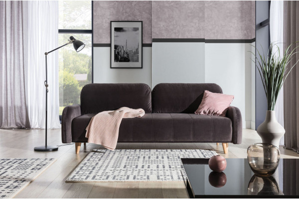 MARA - 3 seater sofa bed with storage